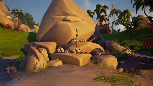 Cursed Skull Piles