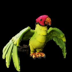 Plumcap Macaw.png