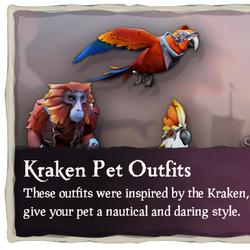 Kraken Pet Outfits