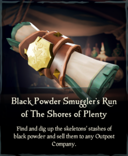 Black Powder Smuggler's Run of The Shores of Plenty.png