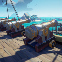 Ceremonial Admiral Cannons