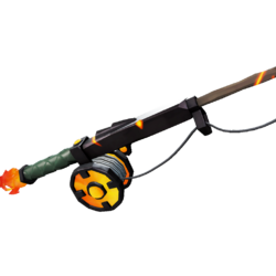 Fishing Rod of the Ashen Dragon