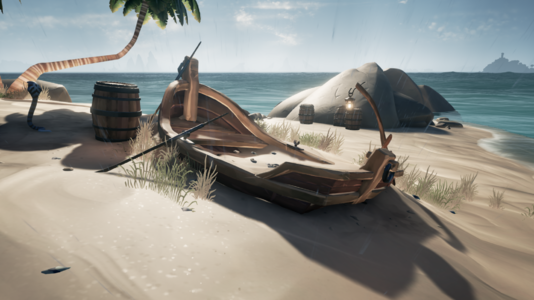 Rowboat Left Behind