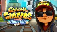 SUBWAY SURFERS GAMEPLAY PC HD 2019 - HOUSTON - JAKE DARK OUTFIT SKULL FIRE BOARD