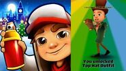 Subway Surfers Christmas 2018 - London - New Character Jamie Top Hat Outfit
