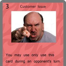 Customer Issue