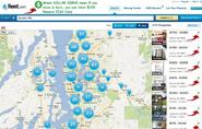 Rent.com Seattke Apts Map