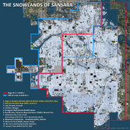 The Snowlands map