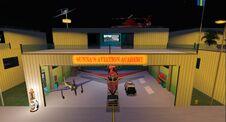 Hanger flight academy night