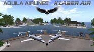 Aquila Airlines - Klaber Air 2018 - Second Life flight experience-0