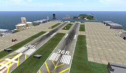 Hollywood Airport, looking NW (07-11)
