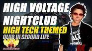 High Voltage Nightclub ★ A High Tech Themed Club In Second Life