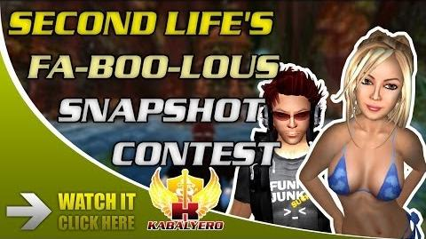 Second Life's Fa-BOO-lous Snapshot Contest