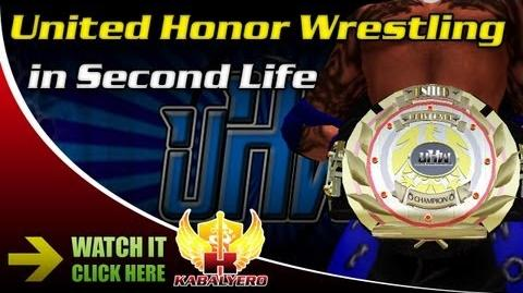 United Honor Wrestling in Second Life Part 1