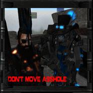 Dont move ass