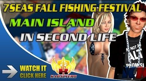 7Seas Fall Fishing Festival 2013 Main Island In Second Life