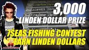 3000 Linden Dollar Prize ★ 7Seas Fishing Contest ★ Earn Linden Dollars In Second Life