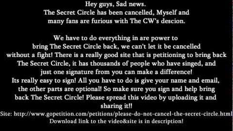 ►_Bring_Back_The_Secret_Circle_SIGN_PETITIONS