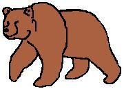 Character Art Grizzly Bear