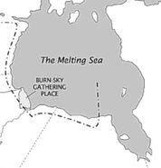The Melting Sea Location