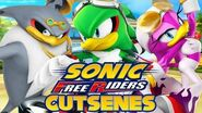Sonic Free Riders - Team Babylon Cutscenes