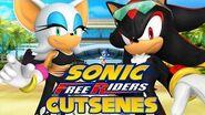 Sonic Free Riders - Team Dark Cutscenes