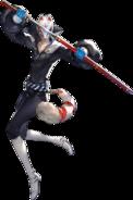 P5 Fox character artwork