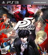PERSONA5 PS3 box art