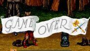 Game Over Golden Axe - The Revenge of Death Adder