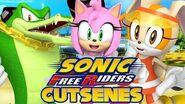 Sonic Free Riders - Team Rose Cutscenes