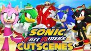 Sonic Free Riders - Last Story Cutscenes