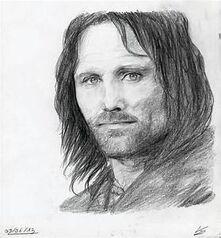 Aragorn dessin