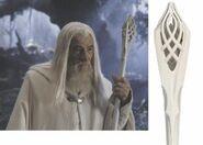 Bâton Gandalf le blanc