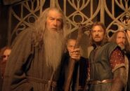 Conseil d'elrond gandalf et boromir étonnés