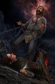 Beleg à l'arc de fer et Túrin.jpg