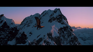 Gandalf et l'aigle géant