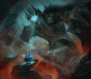 Fingolfin et Melkor