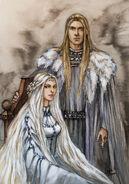 Finarfin et sa femme earwen