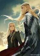 Legolas et son père