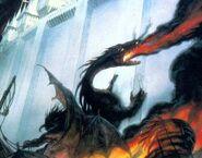 Dragon de feu de Gondolin
