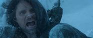 Aragorn tempete de neige