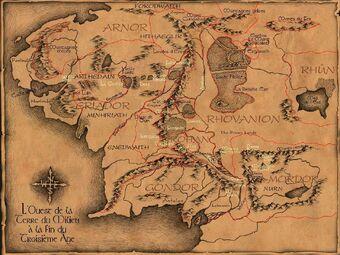 Terre Du Milieu Wiki J R R Tolkien Fandom