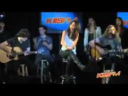 Selena Gomez Who Says (Live on Kiis FM 102,7).