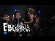 Selena Gomez and the Scene Backstage - E! People's Choice Awards