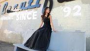 Who says selena sit down black dress (2)