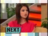 Selena Gomez on The Bonnie Hunt Show December 16, 2009