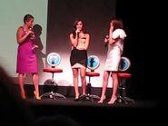 Selena Gomez & Demi Lovato - Princess Protection Program Premiere In Toronto (LIVE)