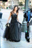WS making off black dress
