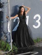 WS black dress selena