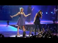 """Taylor Swift and Selena Gomez sing """"Who Says"""""""